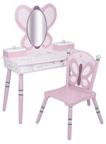 Levels of Discovery Sugar Plum Vanity & Chair Set - Pink