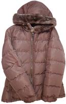 Prada Grey Silk Coat