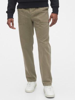 Gap Straight Fit Utility Pants