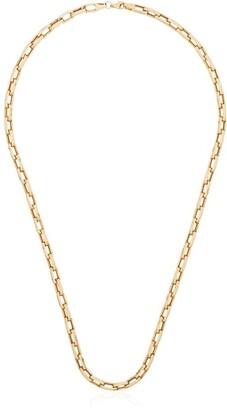 Dru 14kt Gold Antique Link Chain Necklace