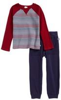 Splendid Toddler Boy's Stripe Thermal T-Shirt & Sweatpants Set