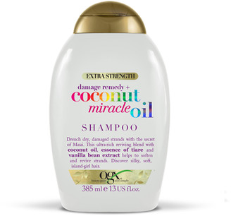 OGX Extra Strength Damage Remedy + Coconut Miracle Oil Shampoo 385ml