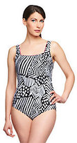 Gottex Silver by Tribal Dance 1-Piece Swimsuit