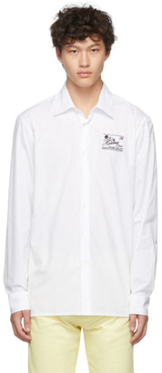 Raf Simons White Heroes and Losers Slim Fit Shirt