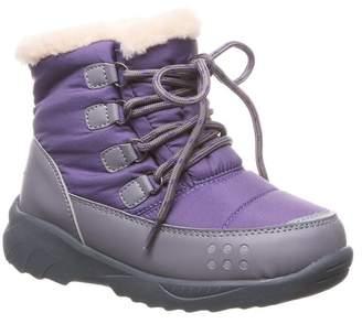 BearPaw Faux Fur Lined Tundra Boot (Little Kid & Big Kid)