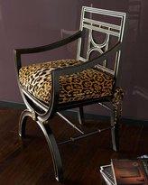 "John-Richard Collection Cheetah"" Roman Chair"