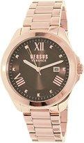 Versus By Versace Women's SBE070015 Analog Display Quartz Gold Watch