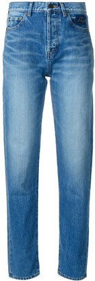 Saint Laurent Tapered Slim Fit Jeans