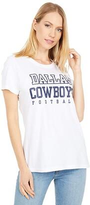 Dallas Cowboys Dallas Cowboys Nike Cotton Practice Tee (White) Women's Clothing
