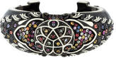 MCL by Matthew Campbell Laurenza Multicolor Sapphire Enamel Wide Cuff