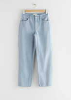 Thumbnail for your product : And other stories Straight High Waist Jeans