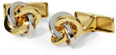Hart Schaffner Marx Two-Tone Knotted Cuff Links