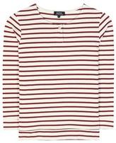 A.P.C. Striped Cotton Top