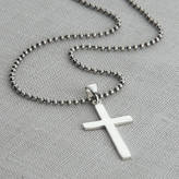 Silver Cross Hurleyburley man Men's Sterling And Chain