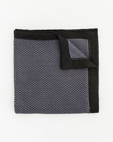 Le Château Knit Colour Block Pocket Square