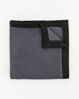 Le Château Knit Colour Block Pocket Square