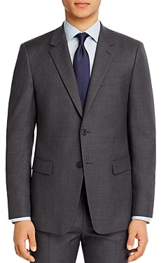 Theory Chambers Micro-Houndstooth Slim Fit Suit Jacket