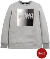 Puma Older Boys Evo Crew Sweat