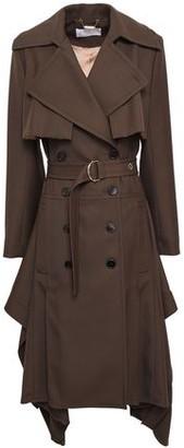 Chloé Wool-twill Trench Coat