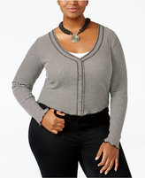 American Rag Trendy Plus Size Cropped Top, Only at Macy's