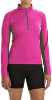 Canari Breakaway Cycling Jersey - Zip Neck, Long Sleeve (For Women)