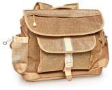 Bixbee Girl's Sparkalicious Water Resistant Backpack - Metallic