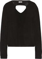 A.L.C. Ty cutout ribbed cotton sweater