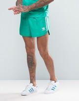 Adidas Originals Retro Shorts In Green Cf5304