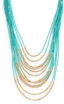 Natasha Multi-Layered Beaded Boho Necklace