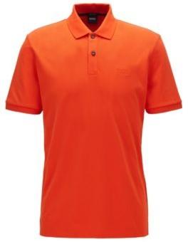 HUGO BOSS Regular-fit polo shirt in Pima-cotton pique