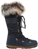 Moon Boot Monaco Nylon & Faux Leather Boots