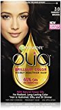 Garnier Olia Oil Powered Permanent Hair Color, 3.0 Darkest Brown (Packaging May Vary)