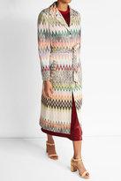 Missoni Chevron Wool Blend Coat