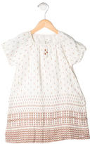 Chloé Girls' Patterned Short Sleeve Dress