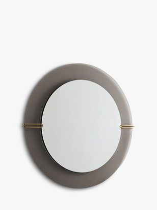 west elm Dapper Mirror, Smoke