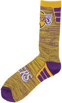 For Bare Feet Los Angeles Lakers Jolt Socks
