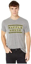 Original Retro Brand The Tri-Blend Short Sleeve Waffle House Tee (Streaky Grey) Men's T Shirt