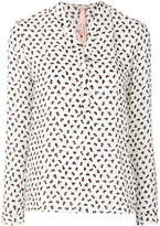 Marc Cain patterned blouse