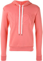 No.21 logo hoodie - men - Cotton/Polyamide - M