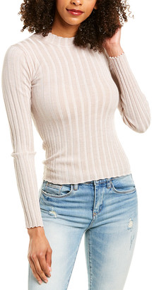 Vince Ribbed Wool-Blend Pullover