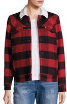 Levi's Boyfriend Wool Blend Sherpa Trucker Jacket