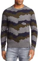 J Brand Quaezar Camo Stripe Sweater - 100% Exclusive