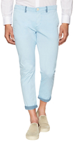 European Roll Up Ankle Casual Pants
