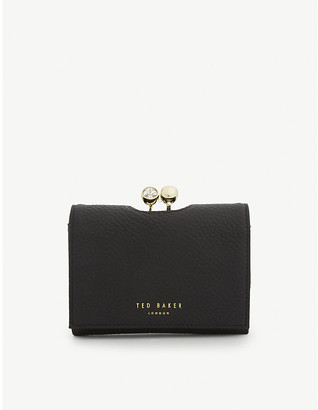 Ted Baker Suri mini leather bobble purse