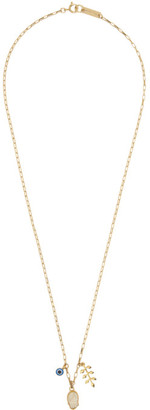Isabel Marant Gold Hand Necklace