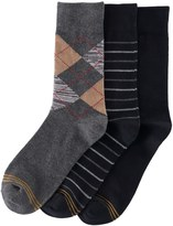 Gold Toe GOLDTOE Boys GOLDTOE 3-Pack Argyle Socks
