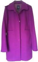 Fay Purple Wool Coat for Women