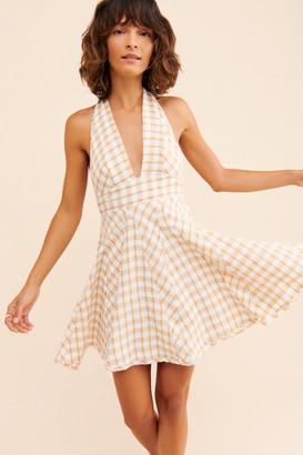 Free People Do The Twist Mini Dress