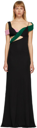 Haider Ackermann Black Cut-Out Top Dress