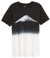 Altru Men's Mt. Fuji Dip Dye T-Shirt
